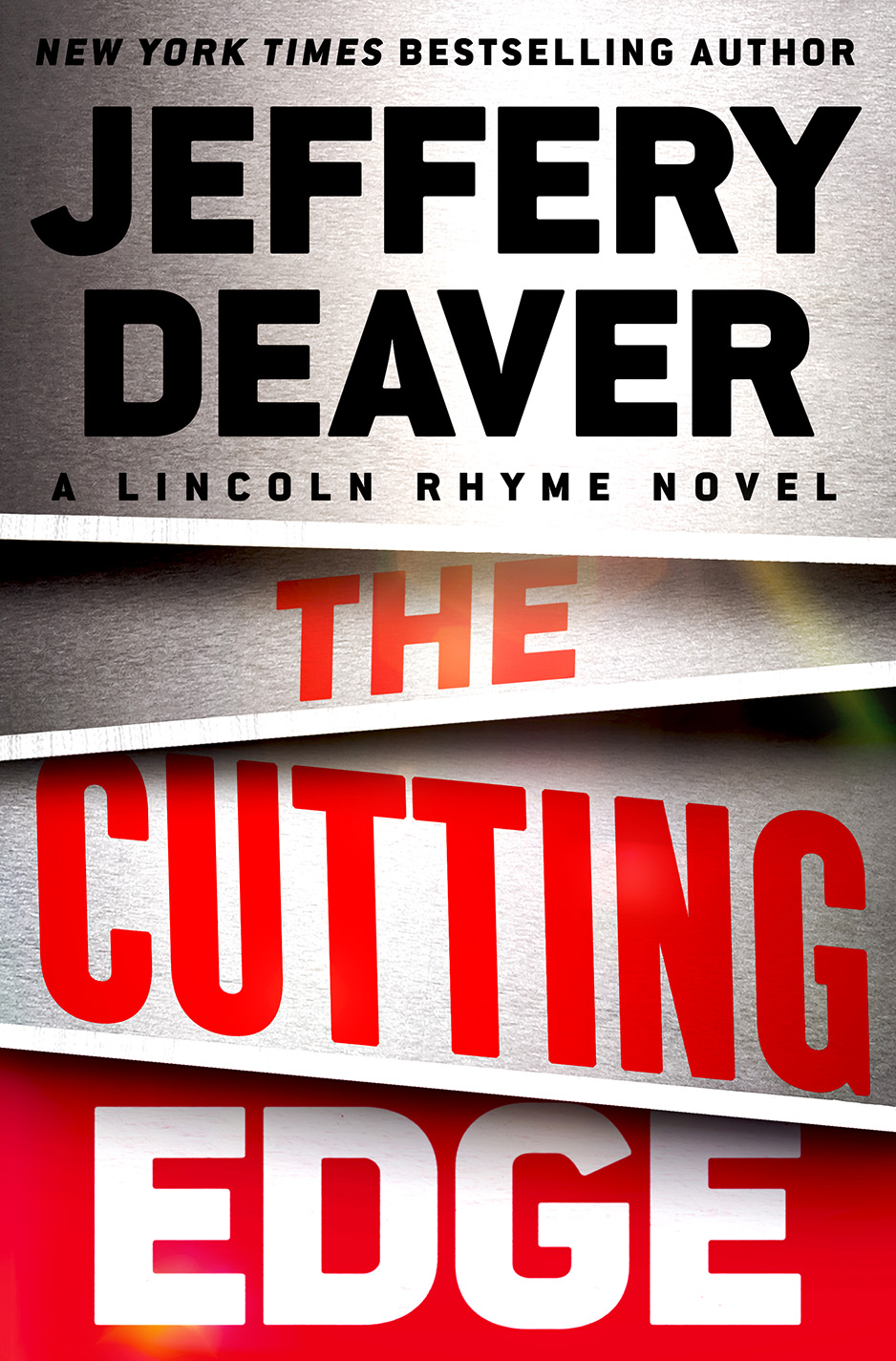 The Cutting Edge by Jeffery Deaver Book Cover
