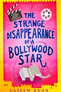 The Strange Disappearance of a Bollywood Star by Vaseem Khan Book Cover