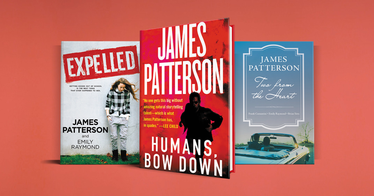Which James Patterson Book Should You Read First? | Novel Suspects