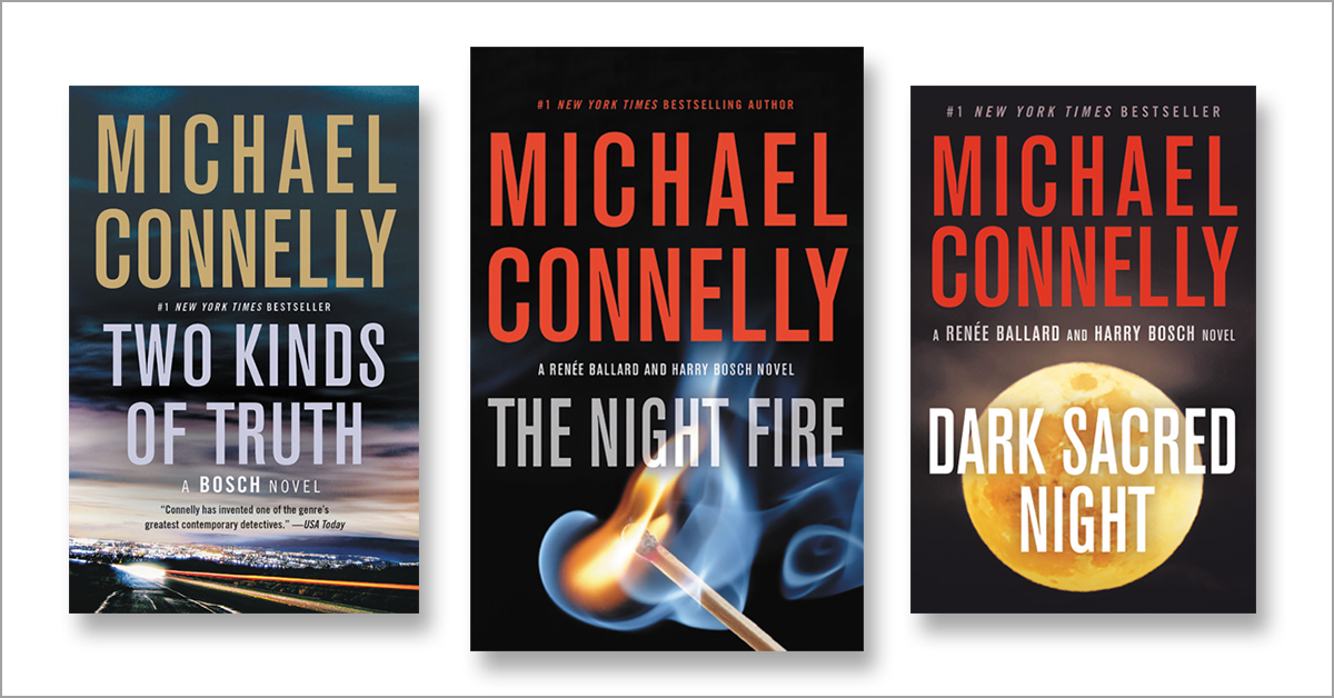 Michael Connelly's Harry Bosch Books in Order | Novel Suspects